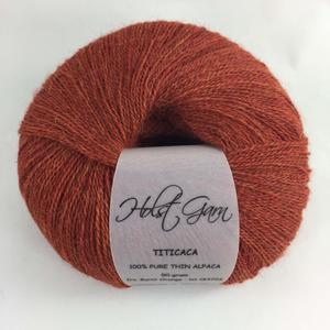 Holst Garn Titicaca Alpaca 23 Burnt Orange