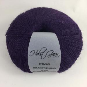 Holst Garn Titicaca Alpaca 12 Purple Rose