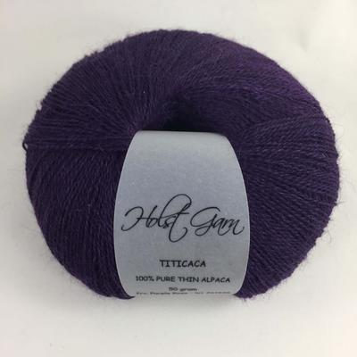 Holst Garn Titicaca Alpaca 27 Purple Rose