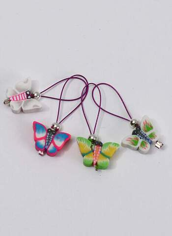 Stitchmarkers - set with butterflies