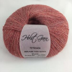 Holst Garn Titicaca Alpaca 09 Rose Bay